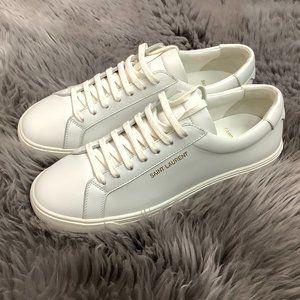 Saint Laurent   Women's Low Top Sneaker   White